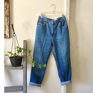 Riders high waisted mom jeans